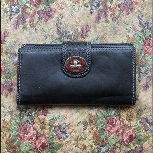 Vintage coach checkbook wallet
